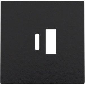 Niko Afwerking  USB-A  - USB-C- Piano Black- 200-68002