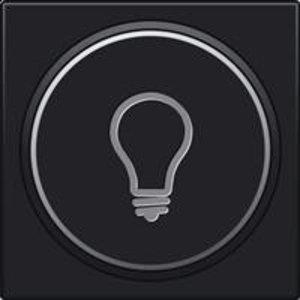 Niko Afwerking  verlichte drukknop lamp symbool 161-64008