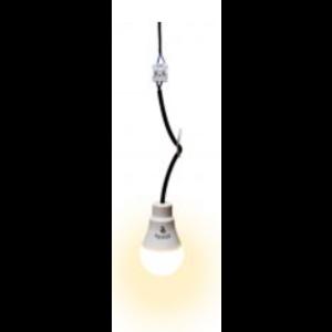 LED bouwpendel incl permanente LED lamp 9W 2700K