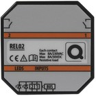 QBUS Decentrale relaismodule (2x8A) voor muur in/opbouwdoos - Copy