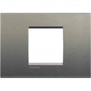 Bticino LivingLight-Afdekplaat  large 2 mod Avenue Silk- LNA4819AE