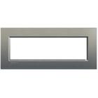 Bticino Afdekplaat 7 mod  LivingLight Avenue Silk