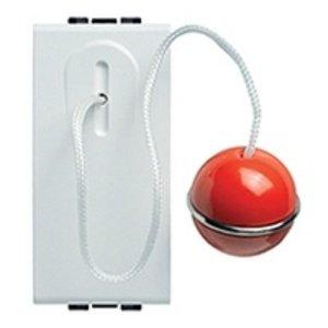 Bticino Drukknop met trekcontact LightWit  - N4033