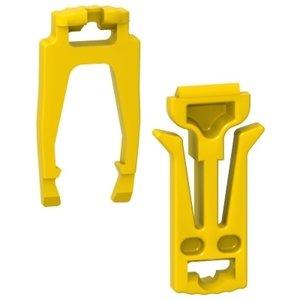 Schneider 1 Montage+1 Uittrekbare stopping clips Per Set