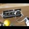 Bachmann Coni zwart Inbouwframe, lang 911002 - kort