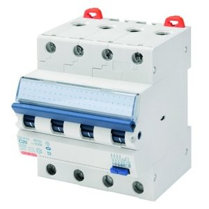 Gewiss Differentieelautomaat - 4P - 20A - Curve C - Type A - 30mA - 4 modules