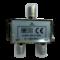 Elix Antenne 2-weg splitter - F Connectoren - 1 IN / 2 UIT - Ref 37285