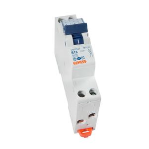 Gewiss Compacte automaat - MTC 60 - 2P - curve B - 16A - 6kA  - Ref GW90328