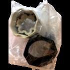 FAAC Adapterset voor octogonale buis 60mm