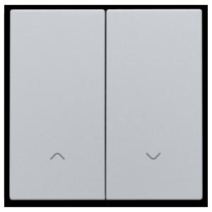 Niko Dubbele elektronische rolluikschakelaar  Sterling  121-31006r