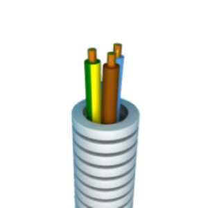 Figibel Flex VOB 3G2,5 Eca - Ø16mm - rol 25m - Ref. FLXFIGIBEL3G25K