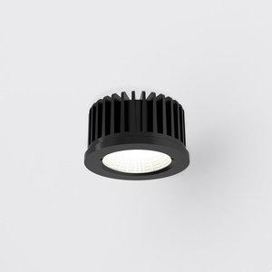 idtoLight LED 7W, 3000K, 753lm  dimbaar, 230V, IP44 Zwart