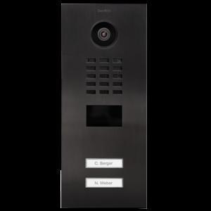 DoorBird DoorBird IP Video Door Station Titanium inbouw D2102V