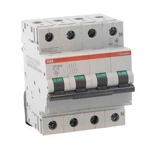 ABB Vynckier EP30 Automaat 3kA 3P+N C 50A - EP33NC50