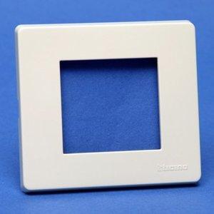 Bticino 500/2A/R Magic Ivoor Afdekplaat 2 modules
