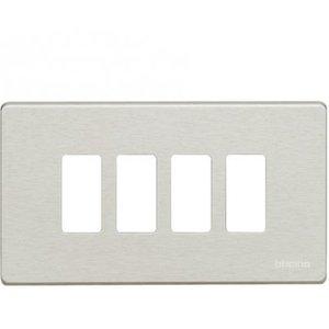 Bticino 504/4/R Magic Ivoor Afdekplaat 4 modules