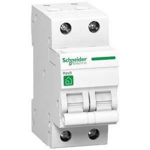 Schneider Automatische zekering 2P - 25A - 3kA - curve C