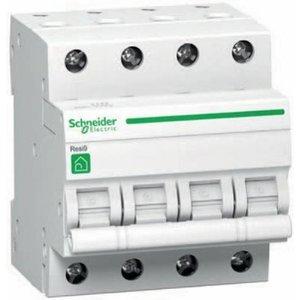Schneider Automatische zekering 3P+N - 40A - 3kA - curve C