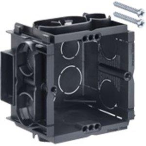 Helia inbouwdoos koppelbaar 50mm met schroeven (per 10 stuks)