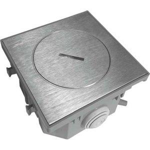 Bubox Inox deksel met standaard sluiting