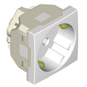 Bubox Duits Nederlands stopcontact voor waterdichte vloerdoos (schuko)