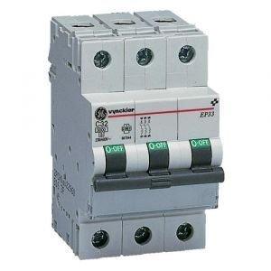 Vynckier Automaat 3P - 63A - 3kA - curve C