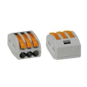 Wago verbindingsklem 3 x 0.08 -2,5mm doos van 50 stuks