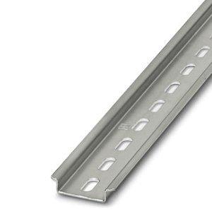 Dinrail 2m, standaard 7,5mm hoog