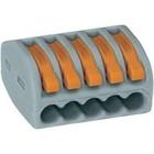 Wago verbindingsklem 5 x 0.08 -2,5mm (40 stuks)
