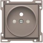 Niko afwerkingsset, griege, stopcontact, inbouwdiepte 21mm Niko 104-66101