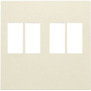 Niko afwerkingsset voor tweevoudige luidsprekeraansluiting kleur cream / 100-69701