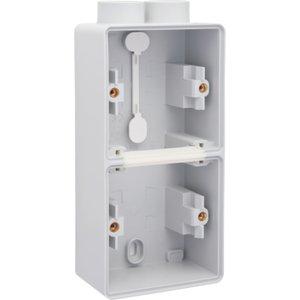 Niko Tweevoudige doos met kabelinvoer 2 x M20 700-84202