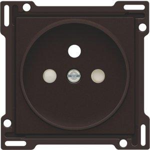 Niko afwerkingsset stopcontact inbouwdiepte 21mm Niko 124-66101