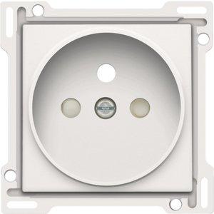 Niko afwerkingsset stopcontact inbouwdiepte 21mm Niko 154-66101