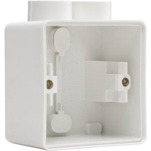 Niko Enkelvoudige doos met kabelinvoer 2 x M20 701-84102