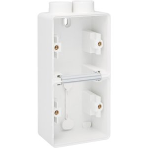 Niko Tweevoudige doos met kabelinvoer 2 x M20 701-84202