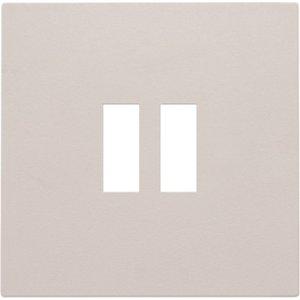 Niko Afwerkingsset voor USB-lader, licht grijs, 102-68001