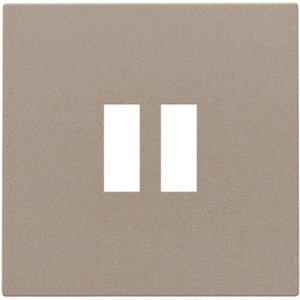 Niko Afwerkingsset voor USB-lader, bronze, 123-68001