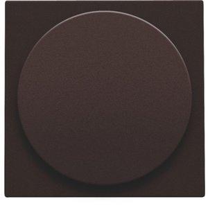 Niko Centraalplaat voor universele dimmer, dark brown ref. 124-31003