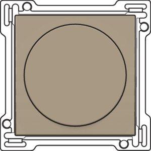 Niko Afwerkingsset voor draaiknop dimmer, Bronze ref. 123-31000