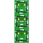 Niko Drievoudige, verticale print ♥ 71 mm voor combinatie met aansluitunit