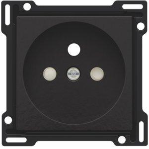 Niko afwerkingsset stopcontact inbouwdiepte 28,5mm, bakeliet Niko 200-66601