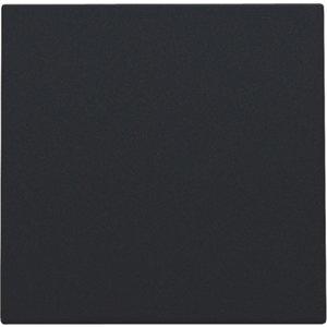 Niko Toets Blindplaat Black steel 161-76901
