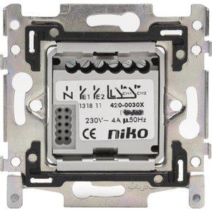 Niko Actor 2-draads met 2 relais uitgangen 4A