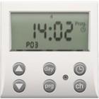 Niko Sensor digitale schakelklok. wit 101-78200