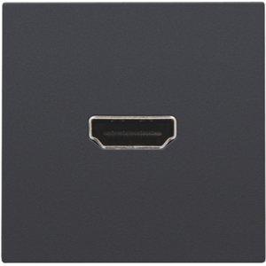 Niko Aansluiting HDMI - HDMI kleur Antraciet
