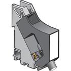 Niko Dinrail coax F-connector