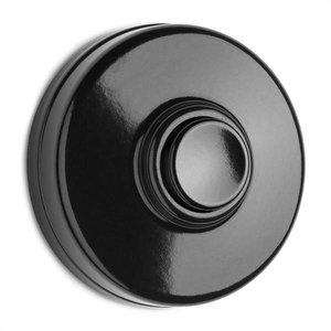 Deurbel in bakeliet zwart