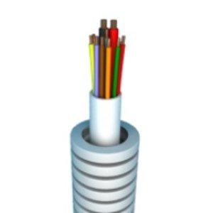 Preflex Flexibele buis 100m alarm kabel 4 x 0,22 + 2x0,75