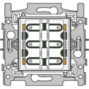 Niko Sokkel 4-voudige drukknop 24V N.O.met amberkleurige LED -170-40150